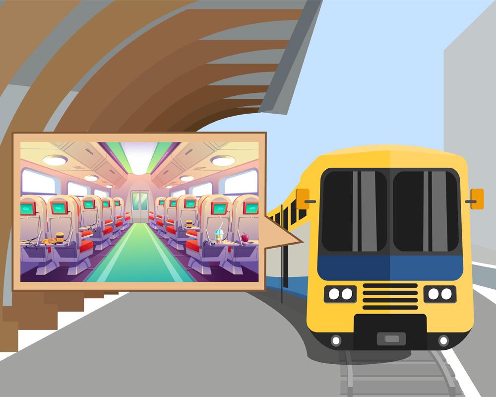 امکانات قطار پردیس رجا