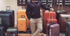 چمدان و مدارک سفر
