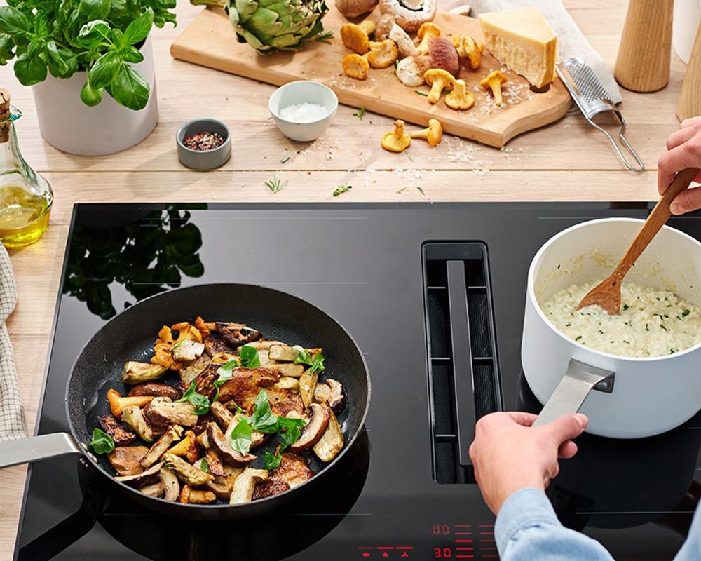 امکان آشپزی و پخت غذا در هتل آپارتمان
